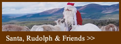See santa with Rudolph and Friends
