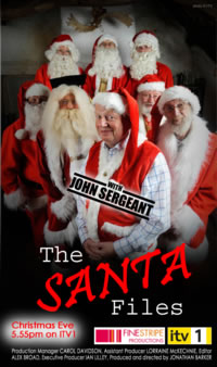 The Santa Files - as seen on TV!