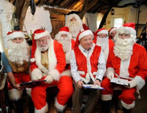 John Sergeant at Santa School