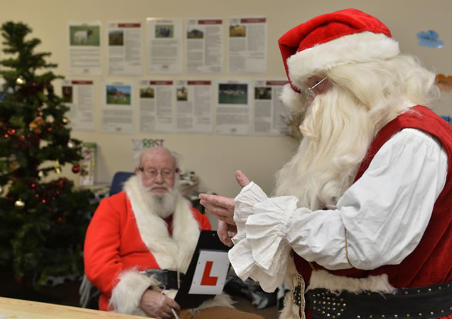santa claus school in scotland for training santas